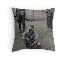 Tribute to the fallen soldiers Throw Pillow
