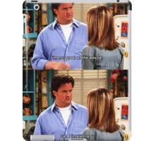 Chandler Bings Sarcasm - FRIENDS iPad Case/Skin