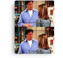 Chandler Bings Sarcasm - FRIENDS Canvas Print