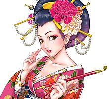Oiran by Hikaru Yagi