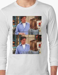 Chandler Bings Sarcasm - FRIENDS Long Sleeve T-Shirt