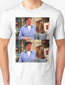 Chandler Bings Sarcasm - FRIENDS Unisex T-Shirt