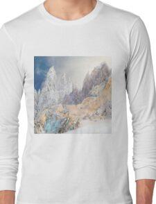 White gold Long Sleeve T-Shirt