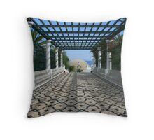 Restored Ancient Bath In Kallithea,Rhodes Throw Pillow