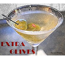 Extra Olives Photographic Print