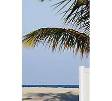 Beach view Photographic Print