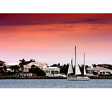 Late Day Sail Photographic Print