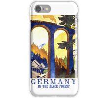 Black Forest Vintage iPhone Case/Skin