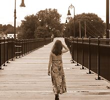 Lonely Bridge by Heather Rampino
