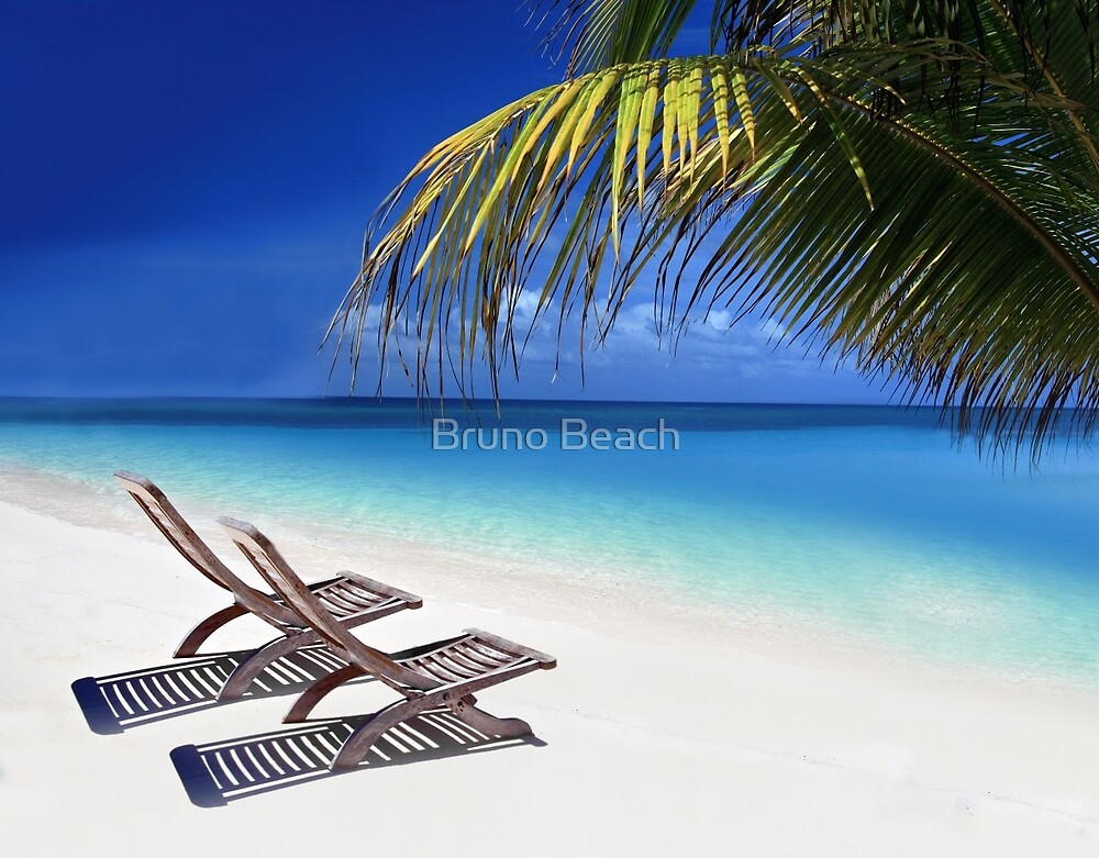 Relax at the Beach  by E ROS