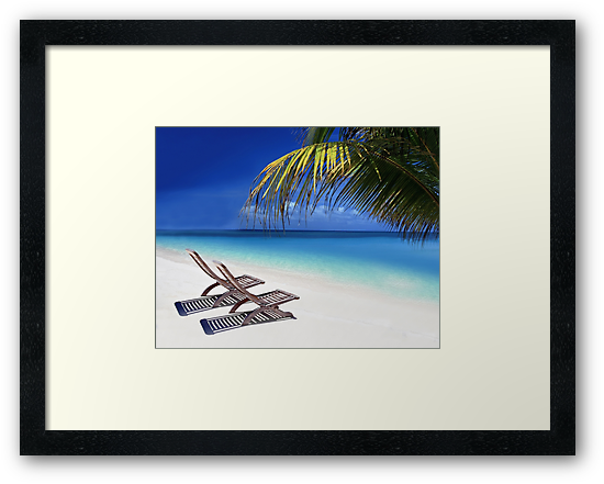 Relax at the Beach  by Digital Editor .