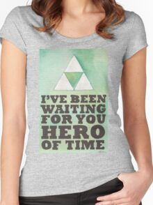 Hero of Time Women's Fitted Scoop T-Shirt