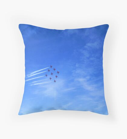 Red Arrows? Throw Pillow