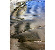 Two Tone Seashore Photographic Print