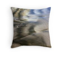 Two Tone Seashore Throw Pillow