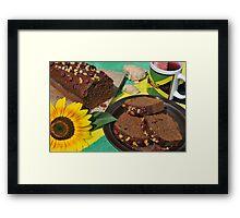 Jamaican Ginger Cake Framed Print