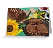 Jamaican Ginger Cake Greeting Card