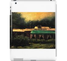 The Green Cafe iPad Case/Skin