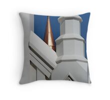 Turrets II Throw Pillow