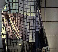 Grunge curtain by Erika Gouws