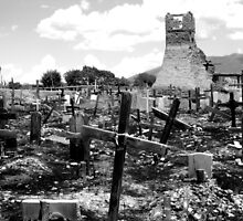 Resting Place - Taos, NM by Monica Vanzant