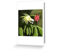 Dragon Plant Greeting Card