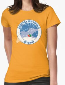 Brighton & Hove Republic, Actually Womens Fitted T-Shirt