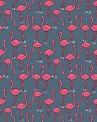 Flamingo -  Payne's Gray by Andrea Lauren by Andrea Lauren