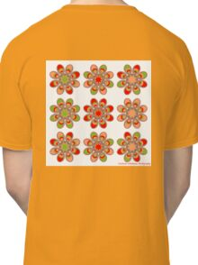 Strawberry Foot Flowers Classic T-Shirt
