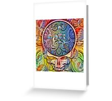 Heads Under The Stars Greeting Card