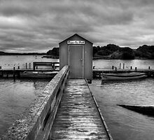 The Boat Shed. by Steve Chapple