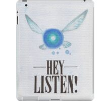 Hey, Listen! iPad Case/Skin