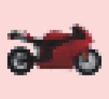 Pixel Ducati Motorbike Thing Kids Clothes