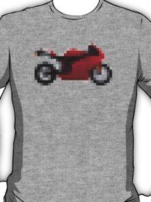Pixel Ducati Motorbike Thing T-Shirt