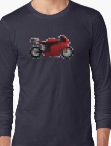 Pixel Ducati Motorbike Thing Long Sleeve T-Shirt