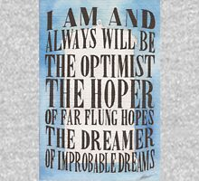 The Dreamer of Improbable Dreams Unisex T-Shirt