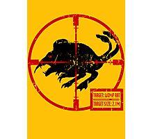 Target: Womp Rat Photographic Print