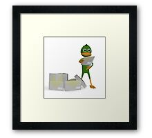 Your email Framed Print