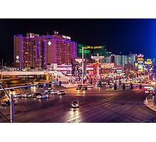 Vegas Crossroads. Photographic Print