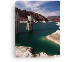 That lake by Hoover Dam Canvas Print