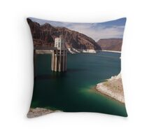 That lake by Hoover Dam Throw Pillow