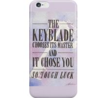 The Keyblade iPhone Case/Skin