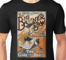The Girl From Paris Vintage Unisex T-Shirt