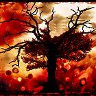 burning oak by mark tizard