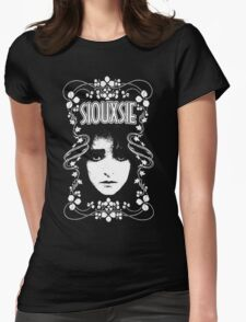 siouxsie and the banshees Womens Fitted T-Shirt