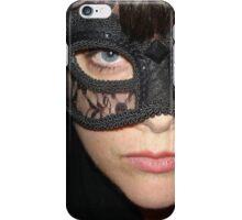 Masked Woman iPhone Case/Skin