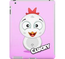 Farm Animal Fun Games - Clucky - Pink Gradient iPad Case/Skin