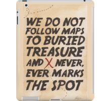 We Do Not Follow Maps iPad Case/Skin