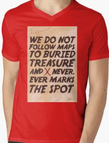 We Do Not Follow Maps Mens V-Neck T-Shirt