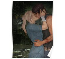 Kiss In The Rain-Bethyl Poster